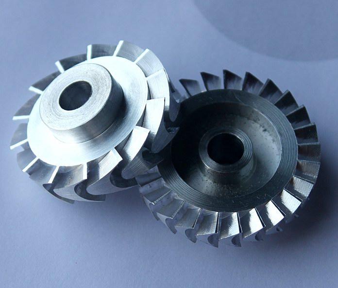 育能小型数控加工叶轮
